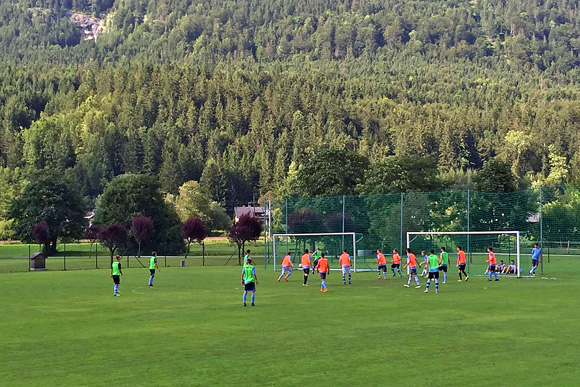 U17-Junglöwen im Trainingslager in Obertraun. Foto: TSV 1860