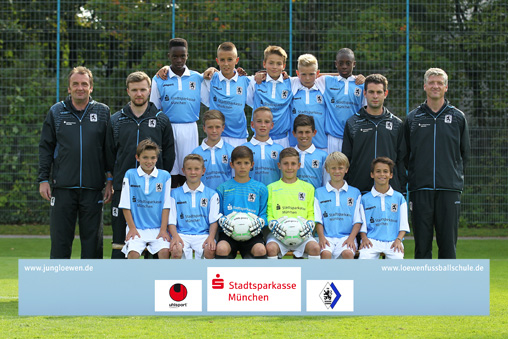 U12-Junioren 2014/2015, Stand September 2014